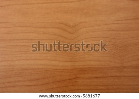 Brown cherry wood grain texture - stock photo