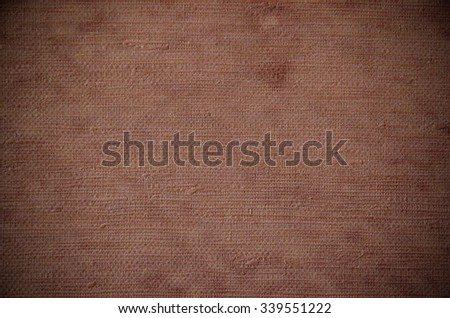 Brown color natural fabric texture for the background