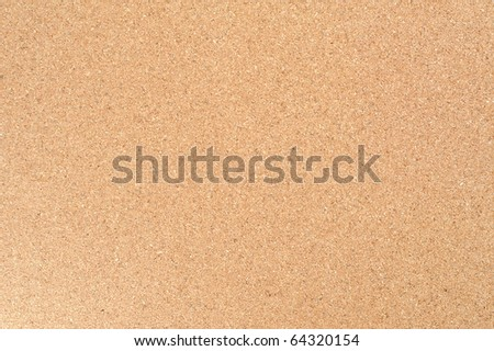 Brown Cork board texture - stock photo