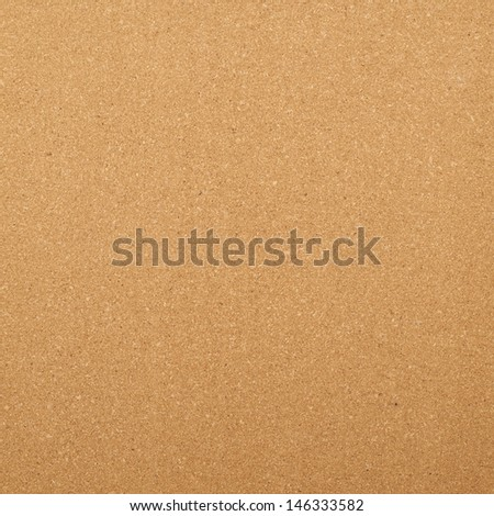 Brown cork mat as abstract texture background composition, top view above - stock photo