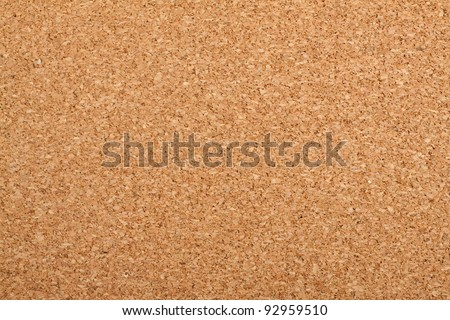 Brown cork texture. Close up. - stock photo