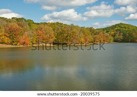 Brown County Indiana - stock photo
