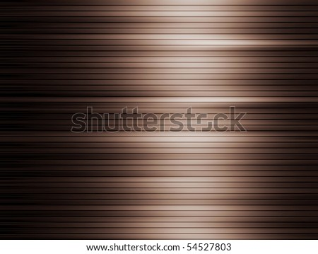 Brown dynamic lines  with light effects. Illustration