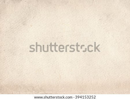 brown empty old a4 format vintage paper background. Grunge retro paper texture - stock photo