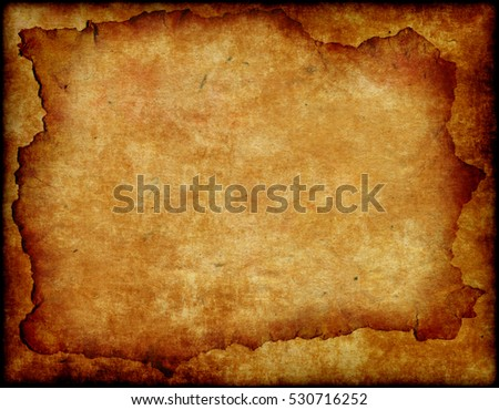 brown empty old vintage paper background. Paper texture with space for text