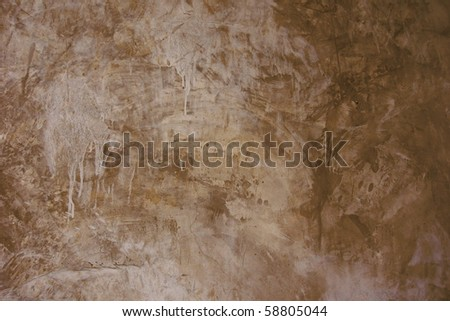 Brown exposed concrete wall Texture - stock photo