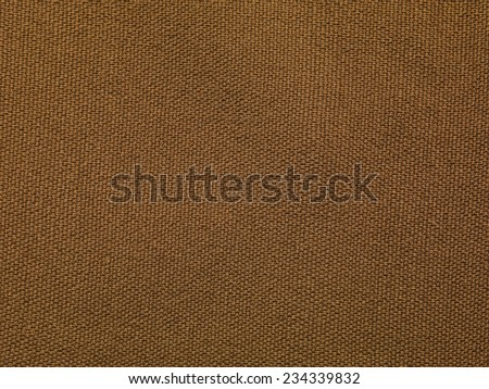 brown fabric background - stock photo