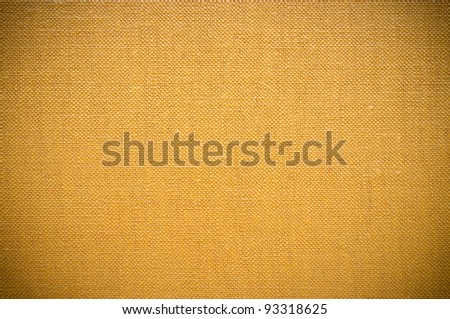 Brown fabric texture for background - stock photo