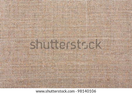 Brown Fabric Texture may be used as background - stock photo