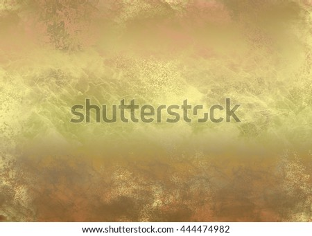 Brown golden abstract     painted   background  for  design .