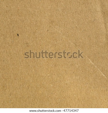 Brown grunge corrugated cardboard sheet useful as a background - stock photo