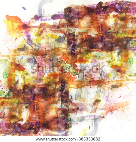 brown grunge watercolor background