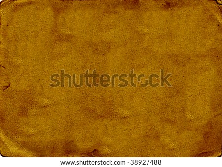 Brown grungy background - stock photo