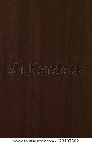 Brown hardwood background - stock photo
