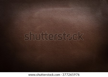 brown leather and Beautiful pattern background - stock photo