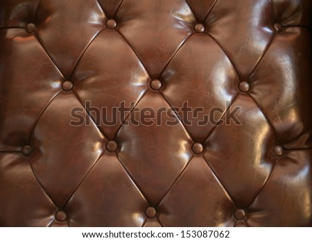 brown leather close-up background