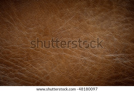 Brown leather texture horizontal orientation