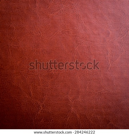 brown leather texture may used as background - stock photo