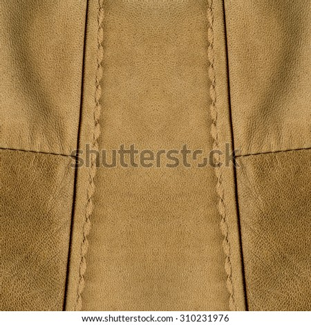 brown leather texture, seam, Useful for background