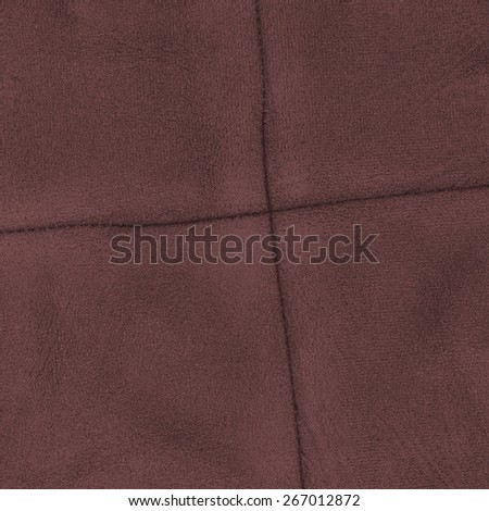 brown leather texture, seams in shape of the cross