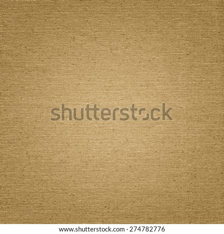 Brown Linen texture background with delicate pattern - stock photo