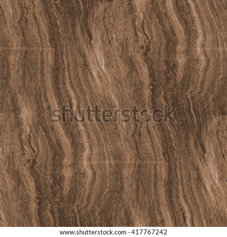brown marble texture - seamless background - stock photo