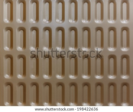 brown metal heater background - stock photo