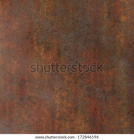 brown metal rust - stock photo