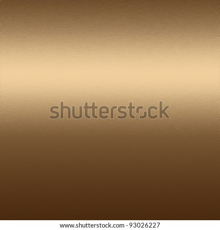 brown metal  texture, brass background - stock photo