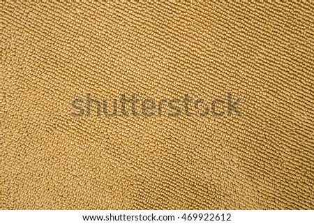 Brown Microfiber or Microfibre Texture Background