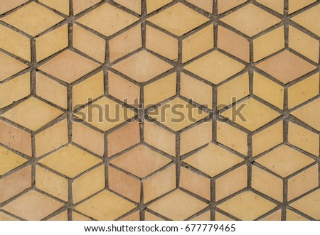 Brown Mosaic Tiles Like Ancient Tiles Ancient Stock Photo (Royalty ...