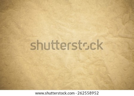 Brown mulberry paper.