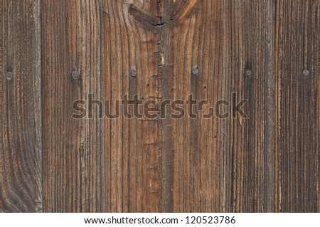 Brown old boards texture - stock photo