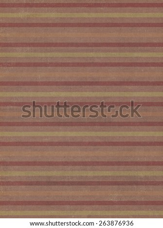 Brown paper background with striped pattern - stock photo