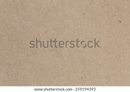 Brown paper, cardboard texture for background. - stock photo