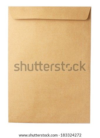 Brown paper envelope A4 Size