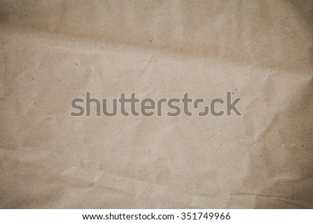 Brown Paper,Paper texture - stock photo