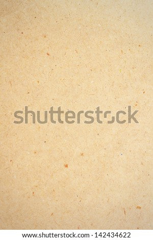 Brown paper sheet for background - stock photo