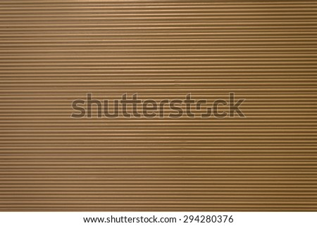 Brown paper with stripe on texture background - stock photo
