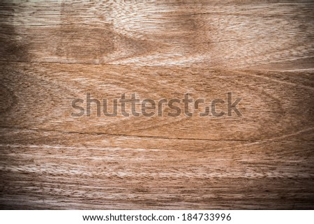 Brown raw wood texture - stock photo
