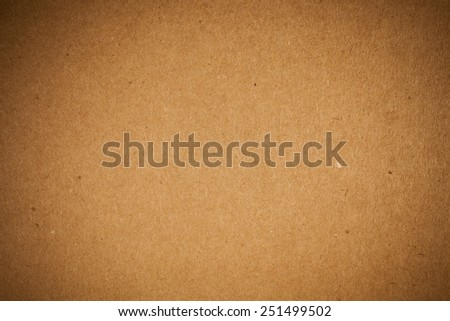 Brown recycled paper background. - stock photo