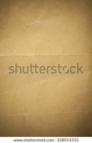 Brown recycled paper background.