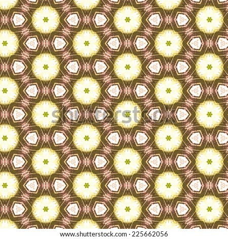 brown retro abstract pattern