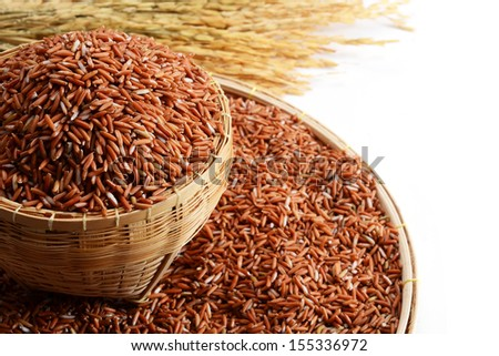 Brown Rice, Sangyod Muang Phatthalung Rice is Geographical Indications in Thailand.