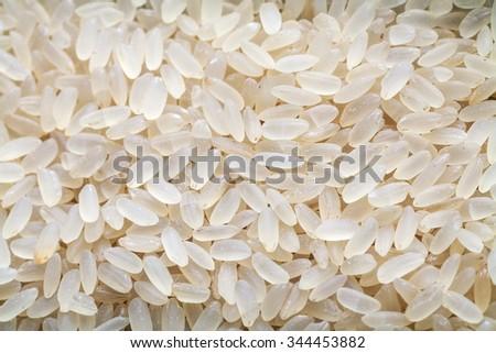 brown rice texture - stock photo