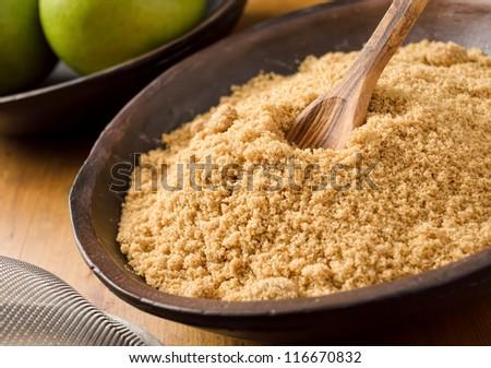 Brown Sugar - stock photo