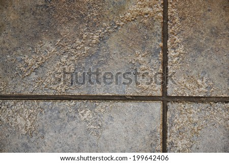brown tiles background - stock photo