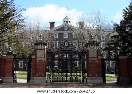 Brown University - stock photo