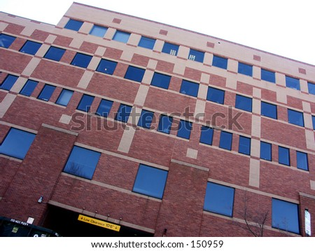 Brown Universtiy Building - stock photo