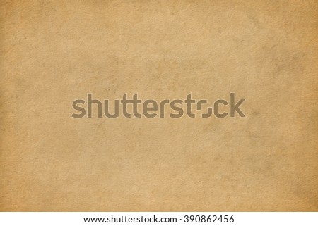 Brown vintage paper background. Craft paper texture